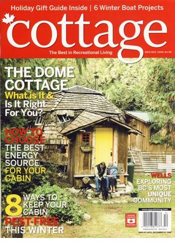 Cottage Magazine cover