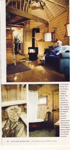 Cottage Magazine - Inside The Dome