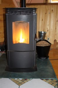 Magical Dome pellet stove
