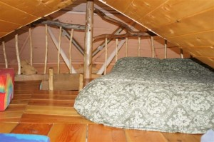 Magical Dome bed in loft